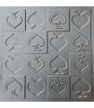 Piki - Molde de prensa de plástico ABS Paneles 3d Decoración de diseño de arte de piedra de pared