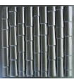 Bamboo - ABS Plastic Press Mold 3d Panels Wall Stone Art Design Decor
